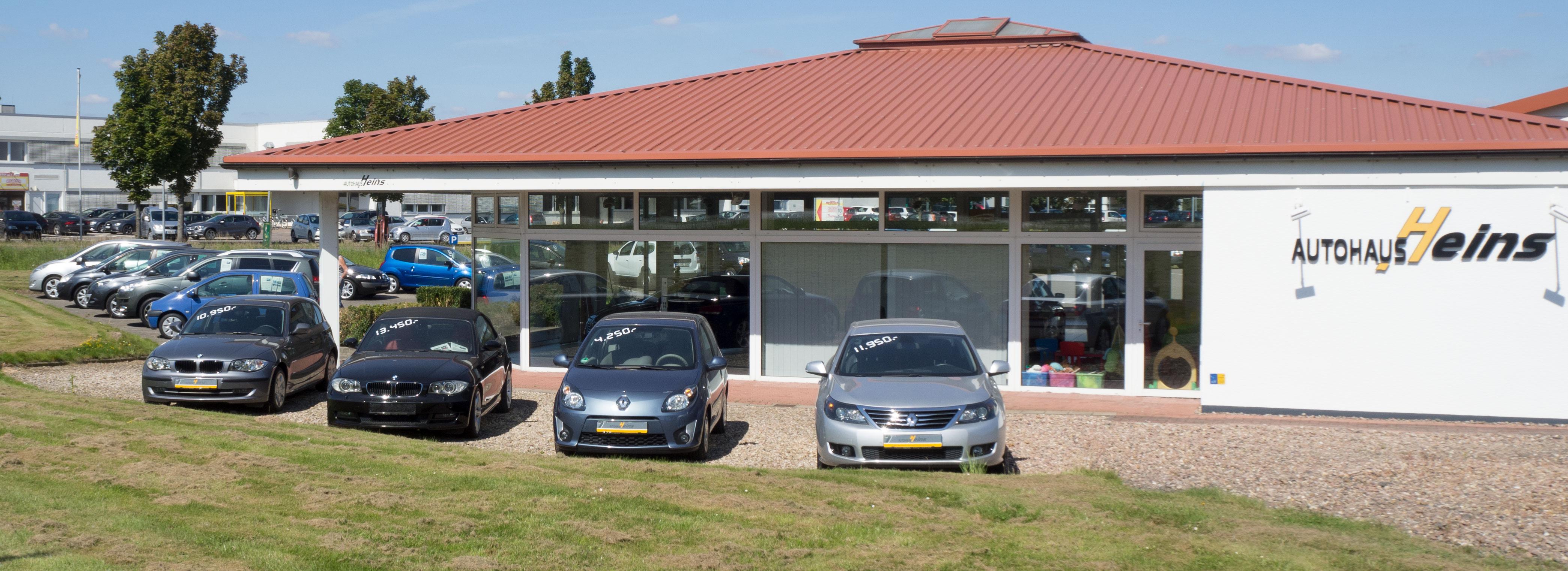 EU-Neufahrzeuge und günstige Gebrauchtwagen im Autohaus Heins in Stadthagen
